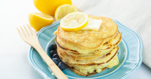 Lemon Ricotta Pancakes facebook 3