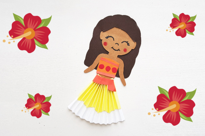 Moana paper craft 680