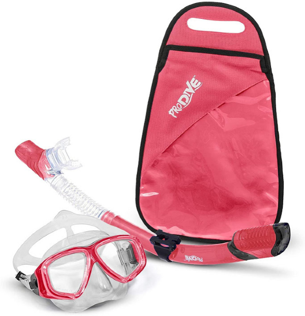 Red snorkel gear