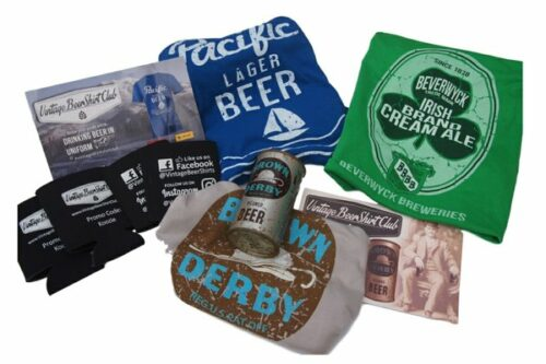 Vintage Beer Shirt subscription