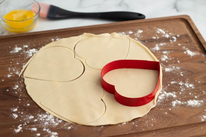 Cookie cutter for blueberry hand pies