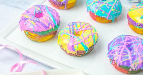 Rainbow Donuts facebook