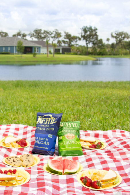 Food for a backyard picnic