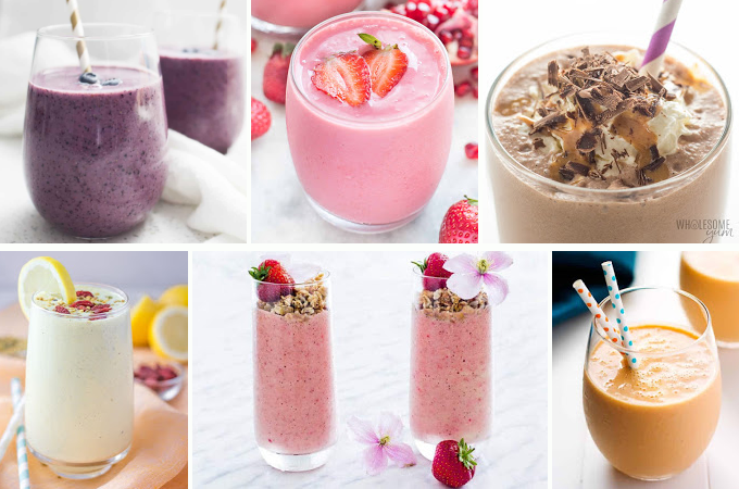 Pictures of healthy smoothie recipes