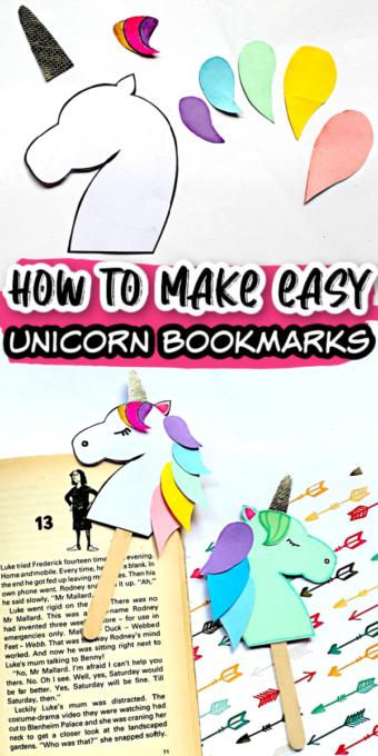 Unicorn Bookmark Pin 2