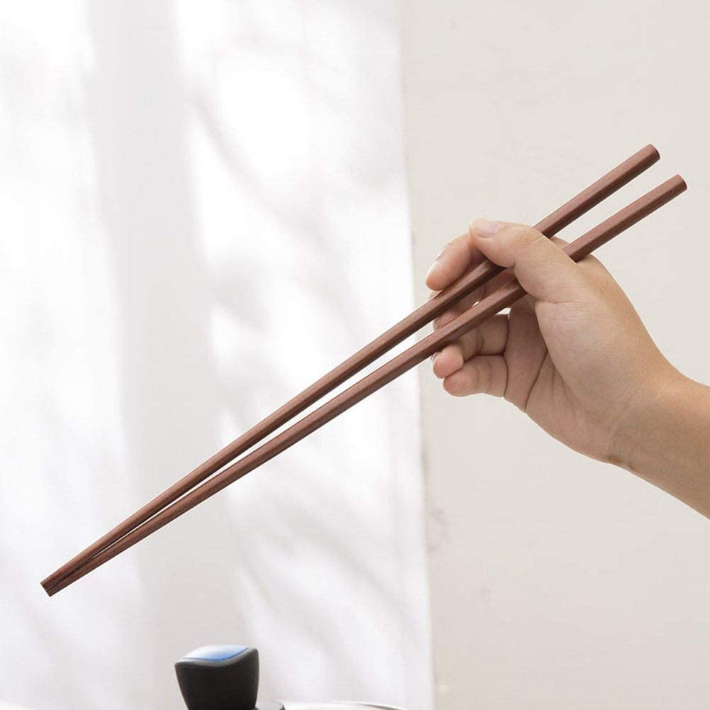 """Wooden Chopsticks; 3 pairs, 15"""" each (to substitute for sticks if needed)"""