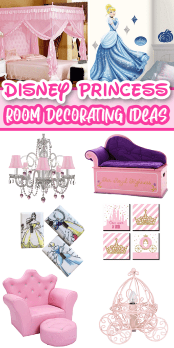 Pictures of Disney princess room decor