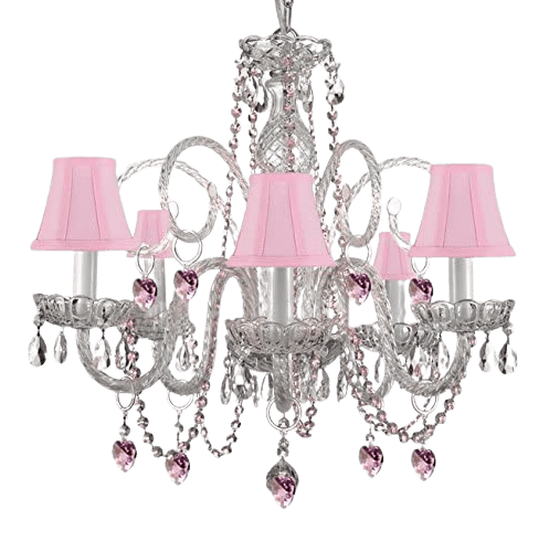 Chandelier for princess room
