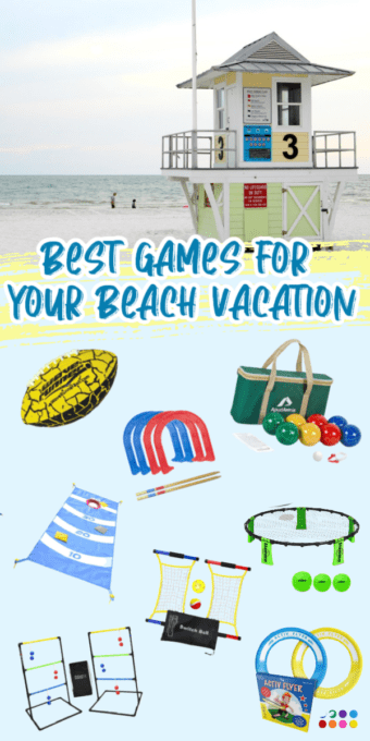Games for a beach vacation