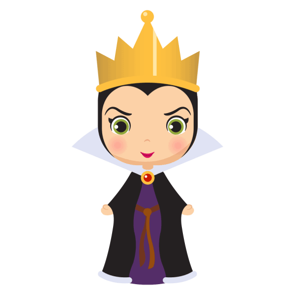The Evil Queen from Snow White