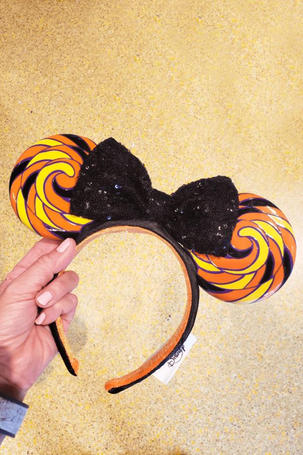 Candy Swirl Minnie ears