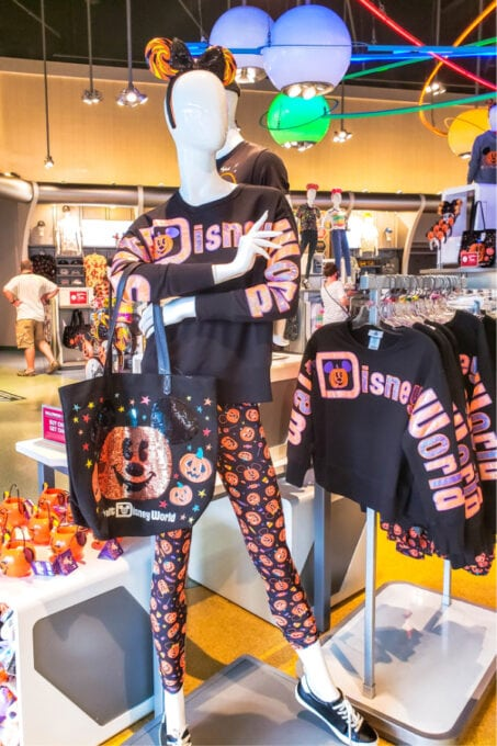 Fall fun at Disney also includes new clothing and other merchandise