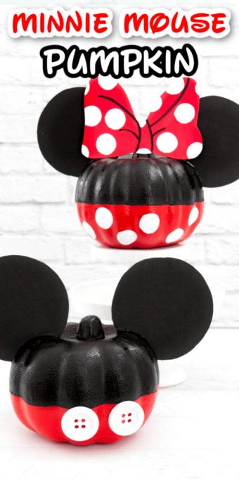 Minnie Mouse Pumpkin Pin 3