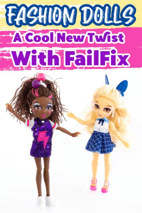 FailFix pin with dolls
