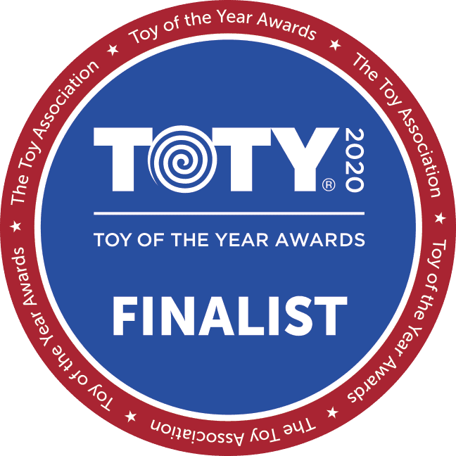 Toy of the year awards finalist button