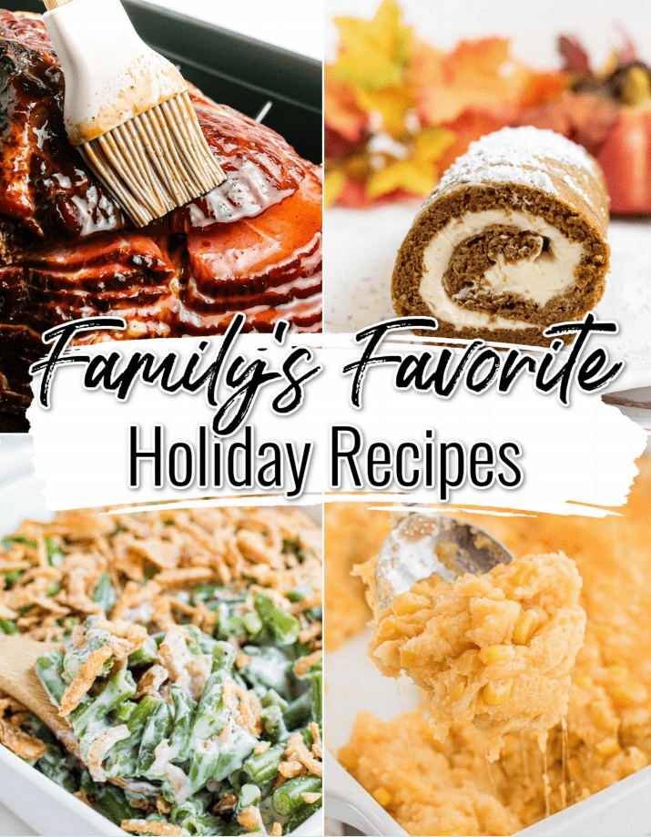 Get a free e-book filled with the best holiday recipes!