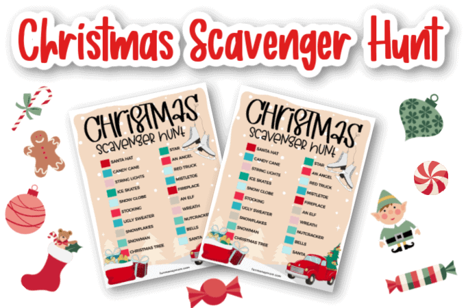 Christmas Scavenger Hunt feature