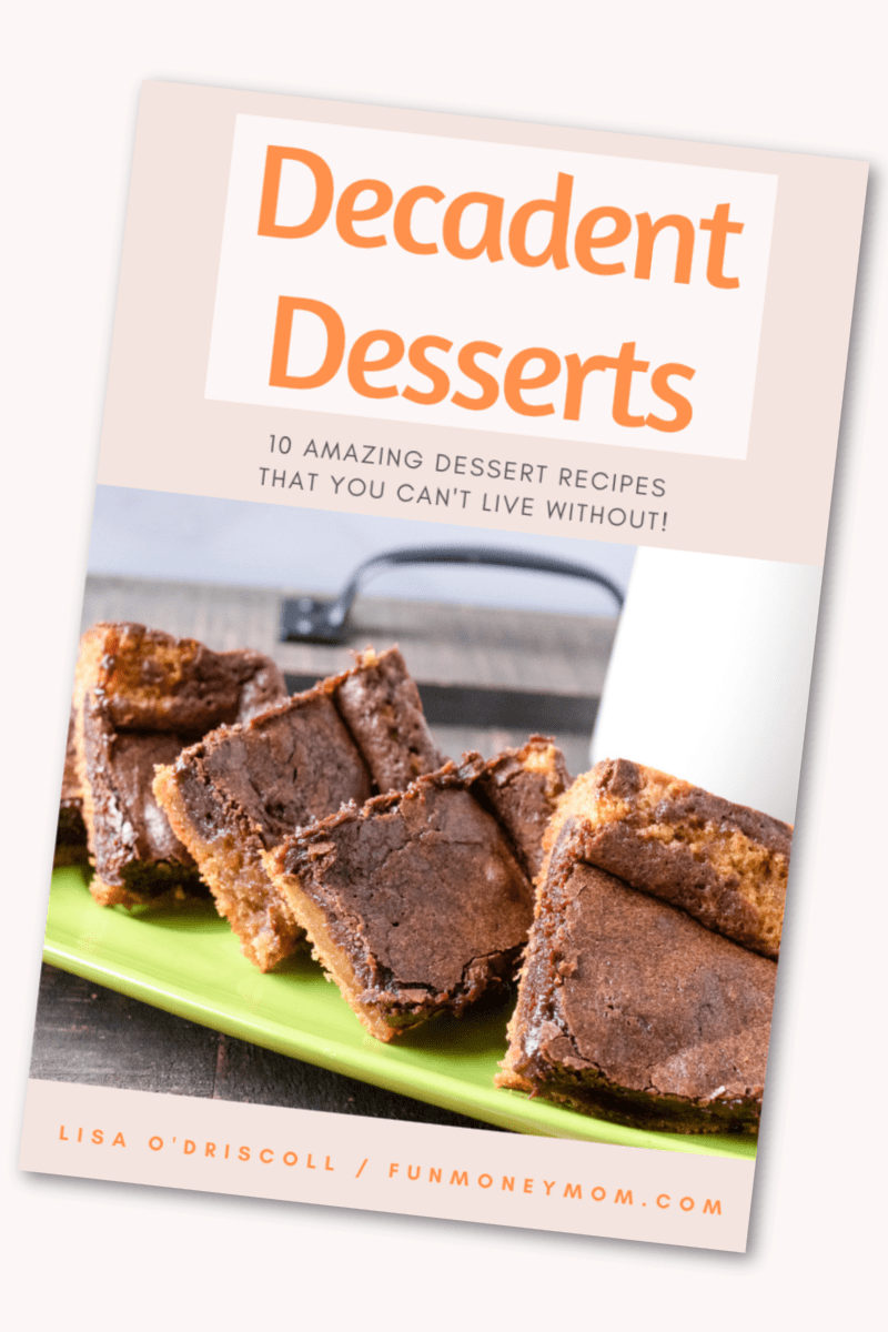 Get a free e-book filled with amazingly decadent desserts!