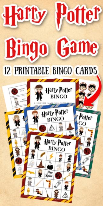 Harry Potter Bingo Game Pin 1