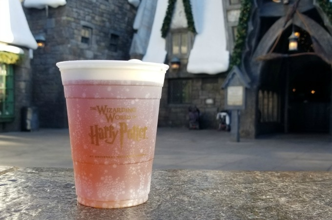 Cup of Butterbeer at Universal Studios