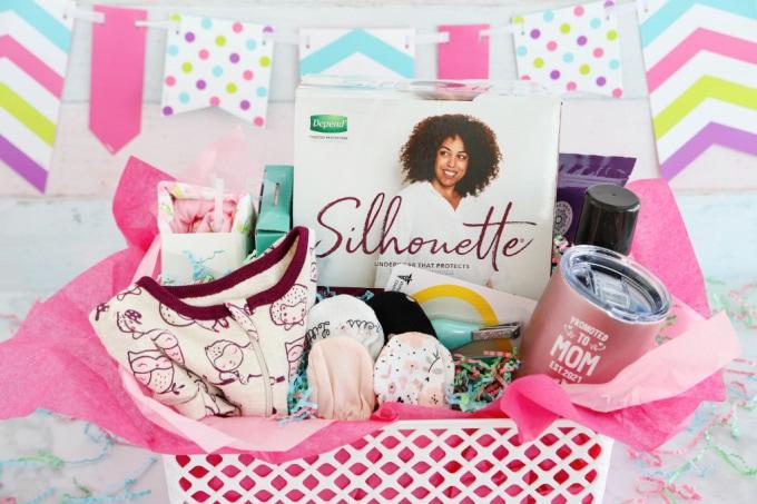 Gift basket for new moms