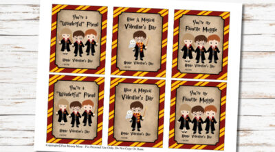 Harry Potter Valentine Cards