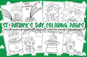 St. Patrick's Day Coloring Pages feature