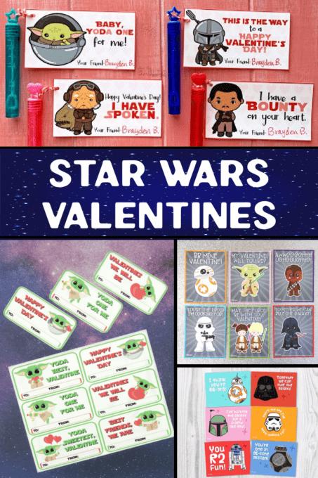 Star Wars Valentines